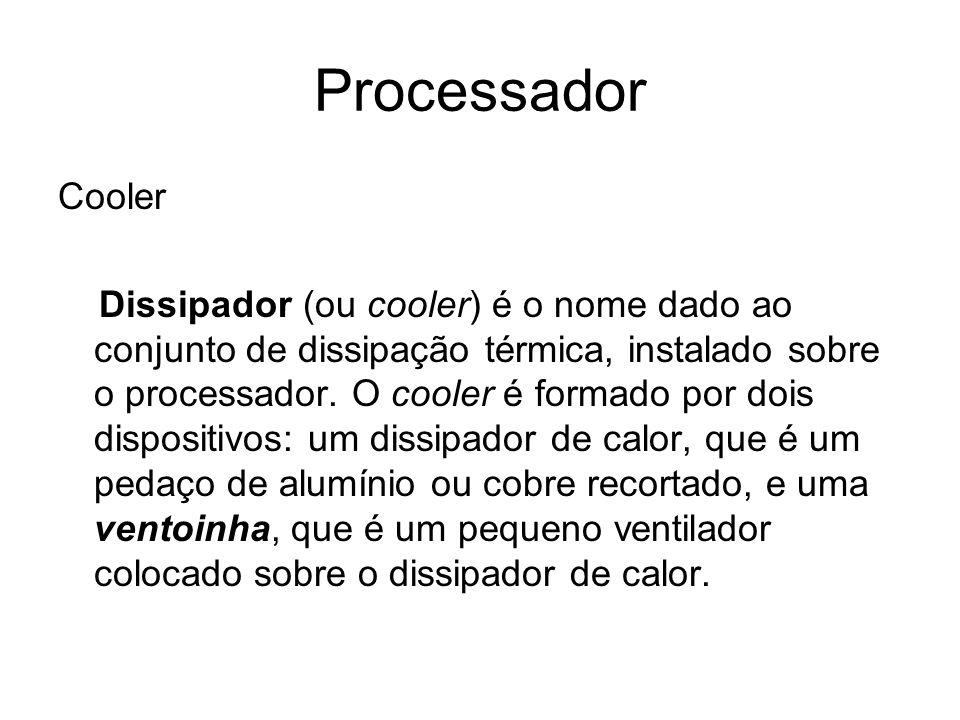 Processador Cooler.