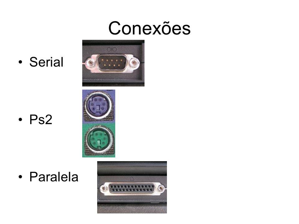 Conexões Serial Ps2 Paralela