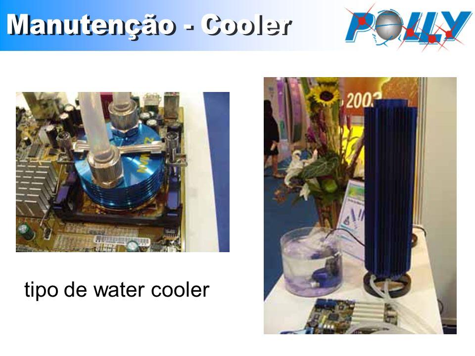Manutenção - Cooler tipo de water cooler