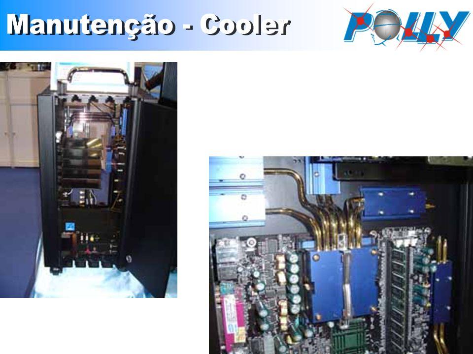Manutenção - Cooler