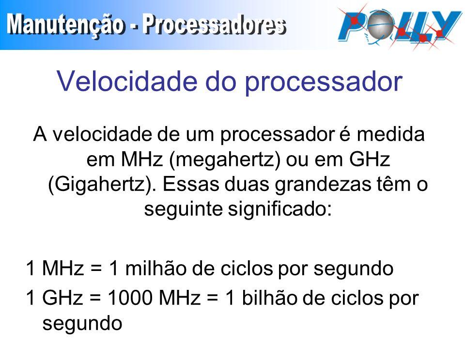 Velocidade do processador
