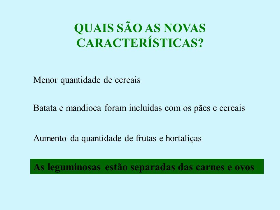 QUAIS SÃO AS NOVAS CARACTERÍSTICAS