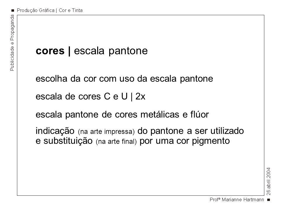 cores | escala pantone escolha da cor com uso da escala pantone