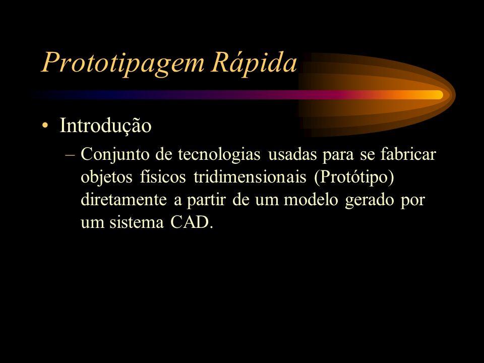 Prototipagem Rápida Introdução