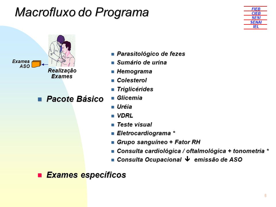 Macrofluxo do Programa