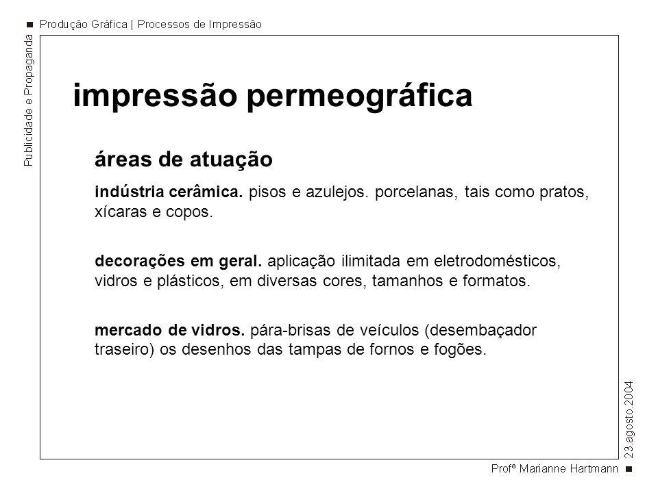 impressão permeográfica