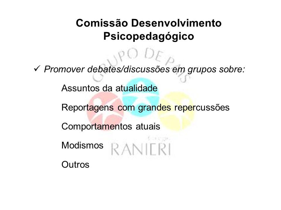 Comissão Desenvolvimento Psicopedagógico