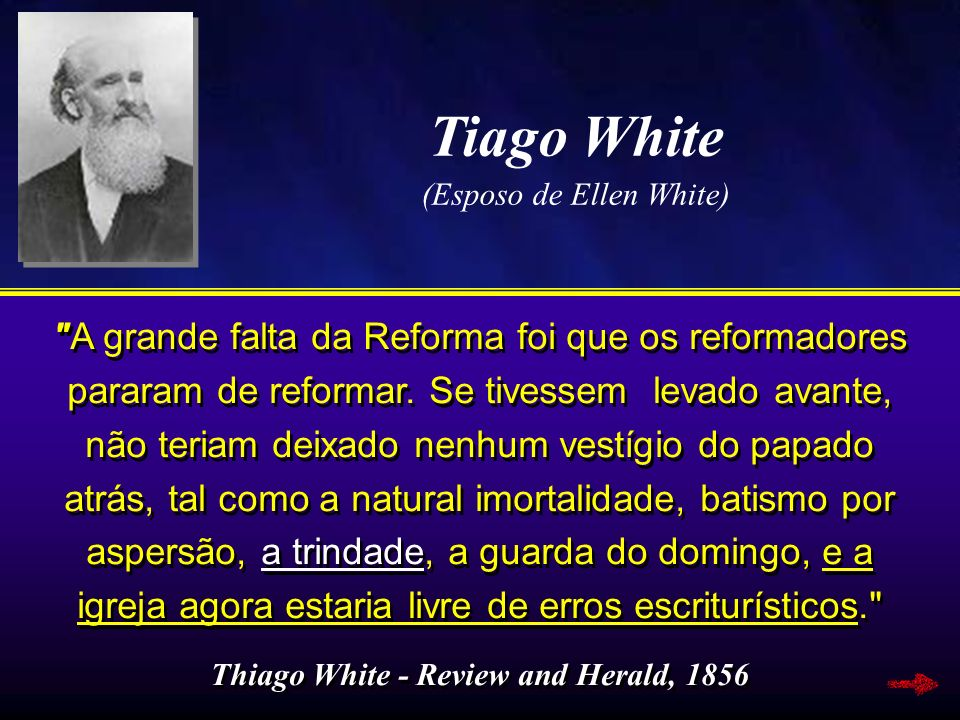 Thiago White - Review and Herald, 1856