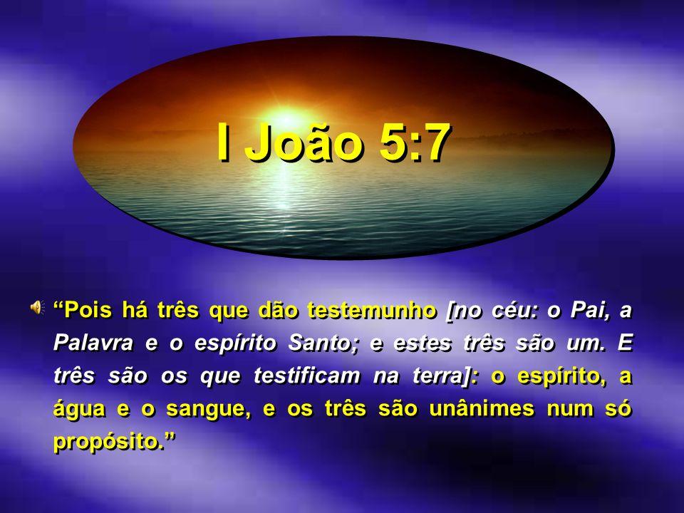 I João 5:7