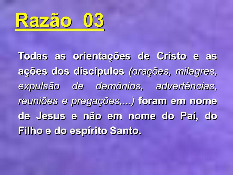 Razão 03