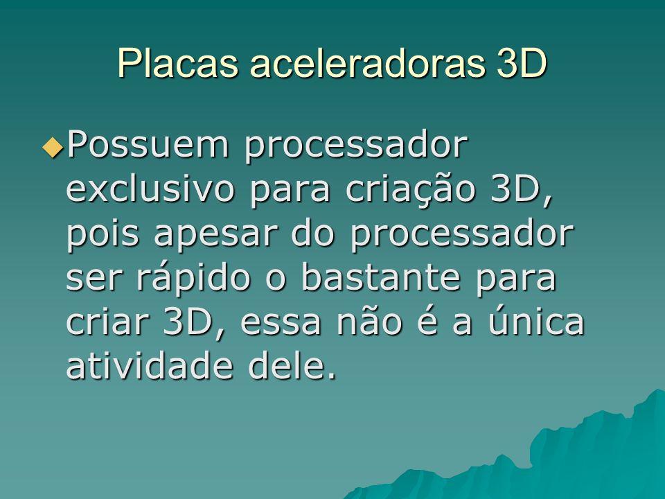 Placas aceleradoras 3D