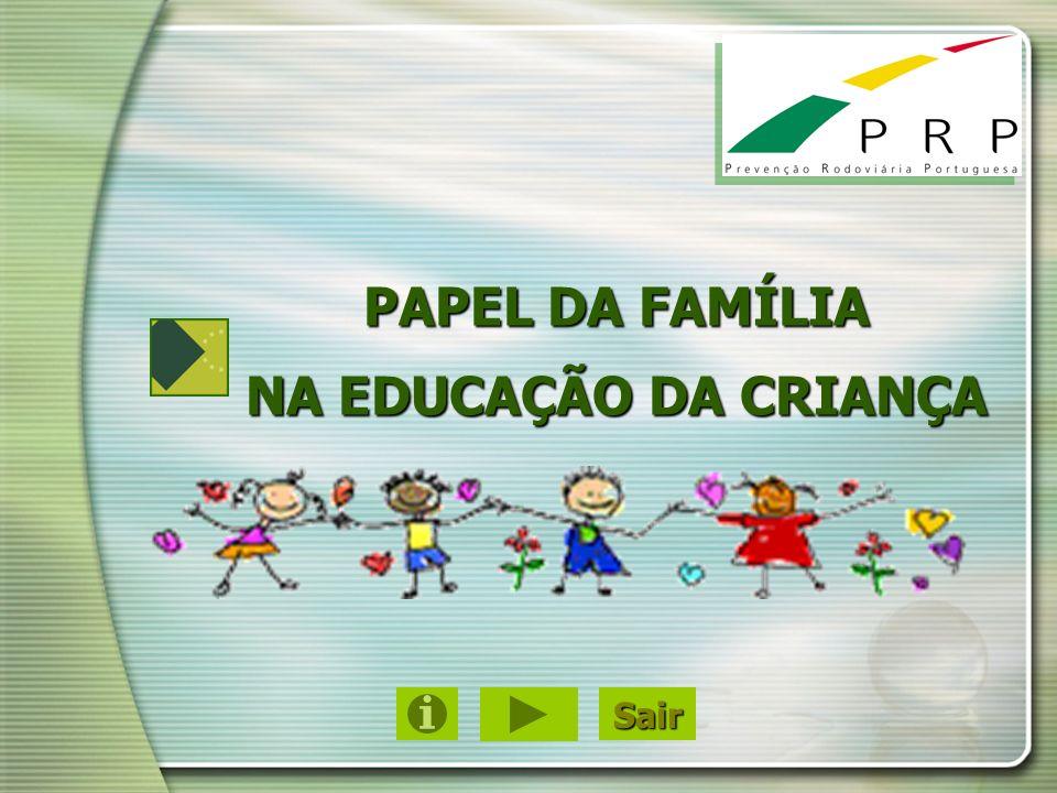 PAPEL DA FAMÍLIA NA EDUCAÇÃO DA CRIANÇA