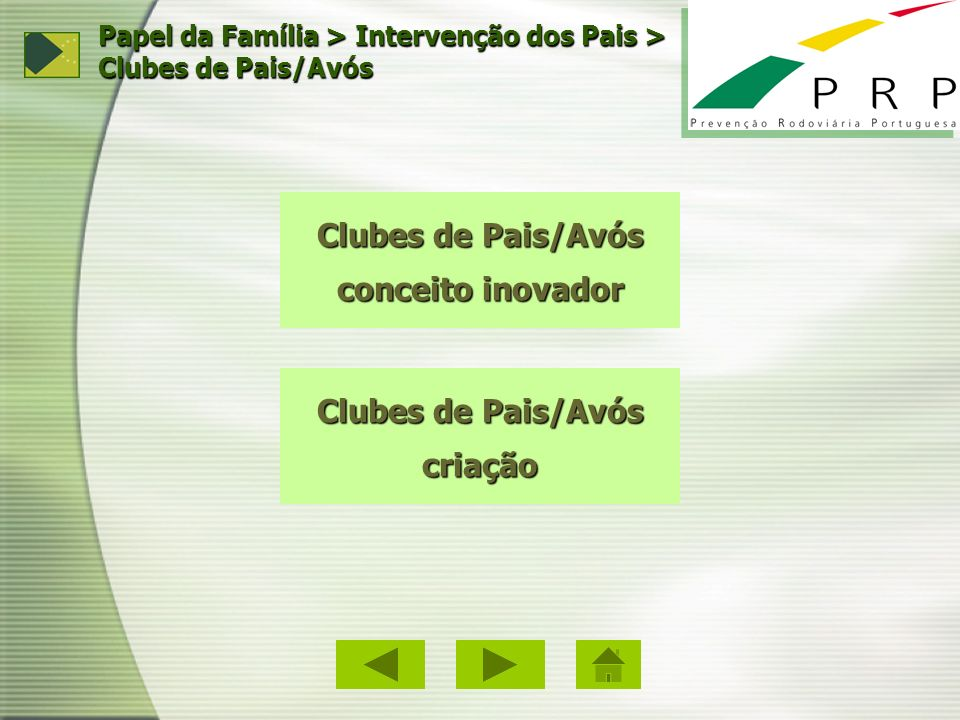 Clubes de Pais/Avós conceito inovador Clubes de Pais/Avós criação