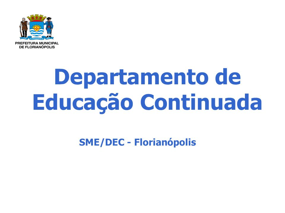 Departamento de Educação Continuada