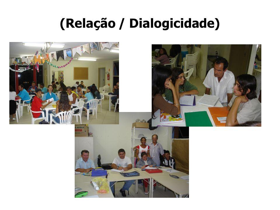 (Relação / Dialogicidade)