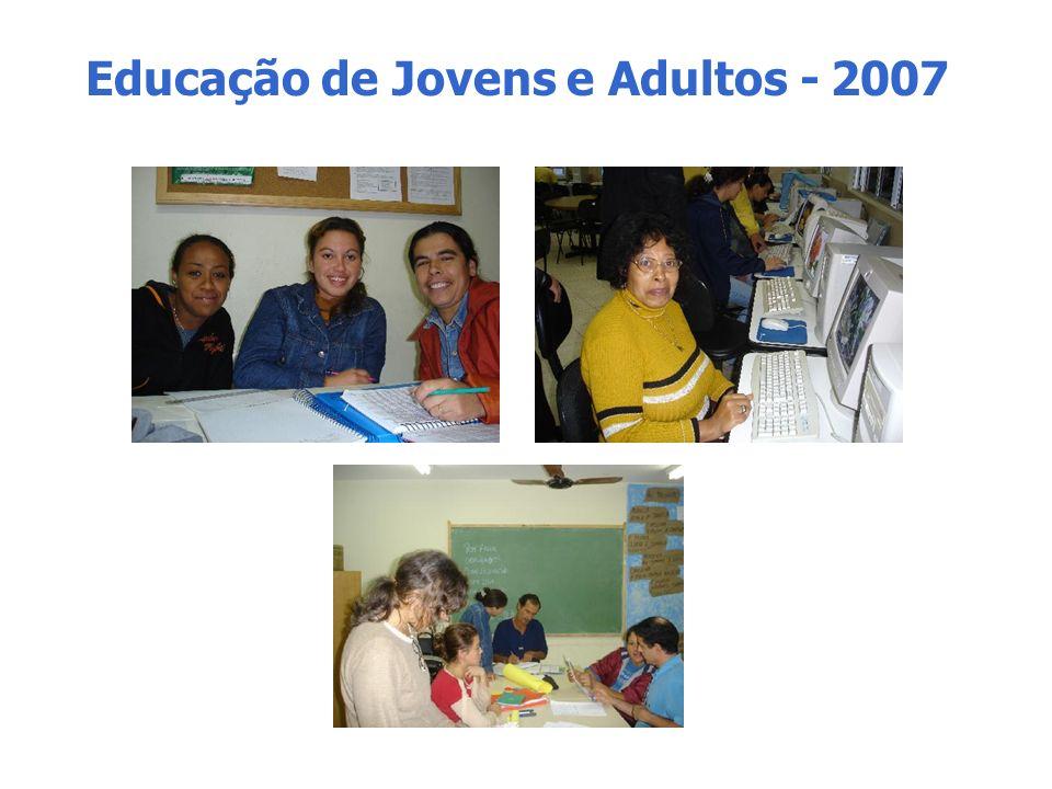 Educação de Jovens e Adultos - 2007