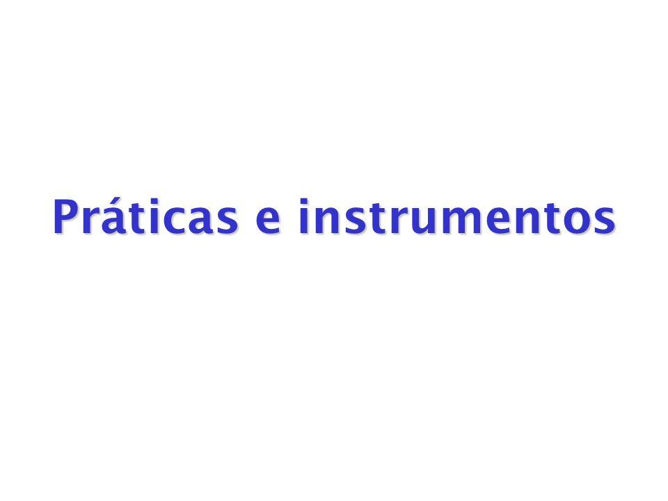 Práticas e instrumentos