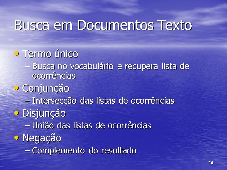 Busca em Documentos Texto