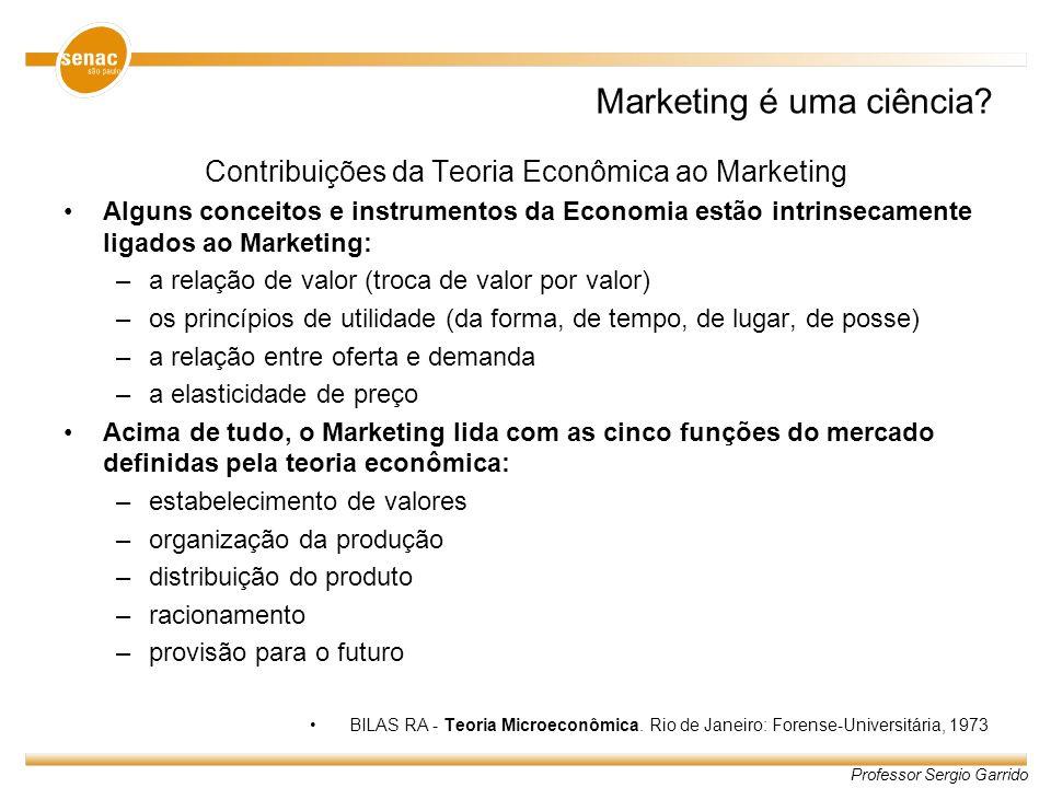 Marketing é uma ciência