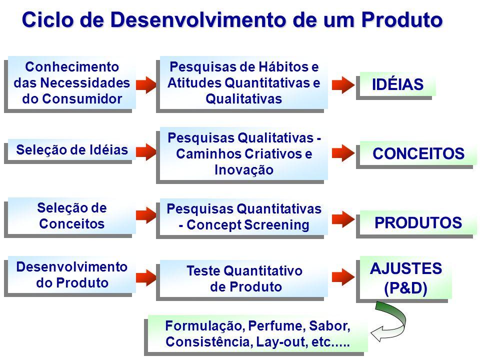 Ciclo de Desenvolvimento de um Produto
