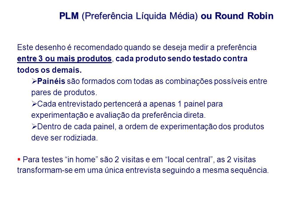 PLM (Preferência Líquida Média) ou Round Robin