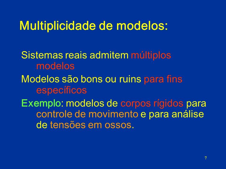 Multiplicidade de modelos: