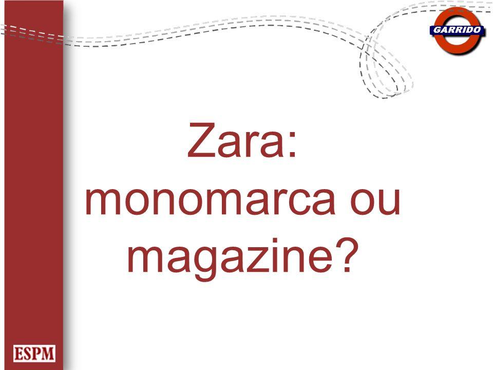 Zara: monomarca ou magazine
