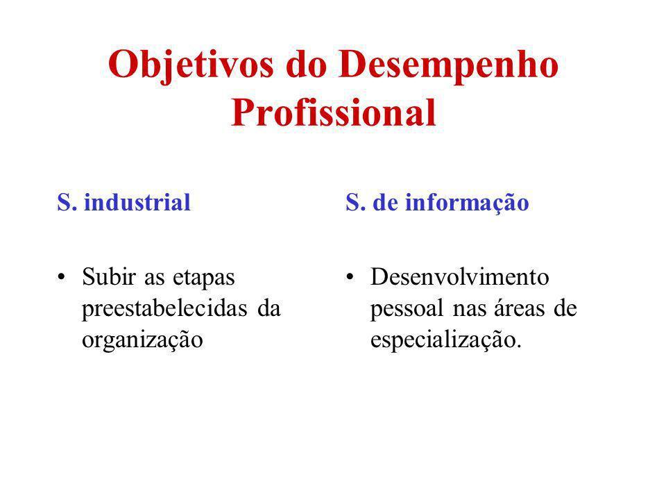 Objetivos do Desempenho Profissional