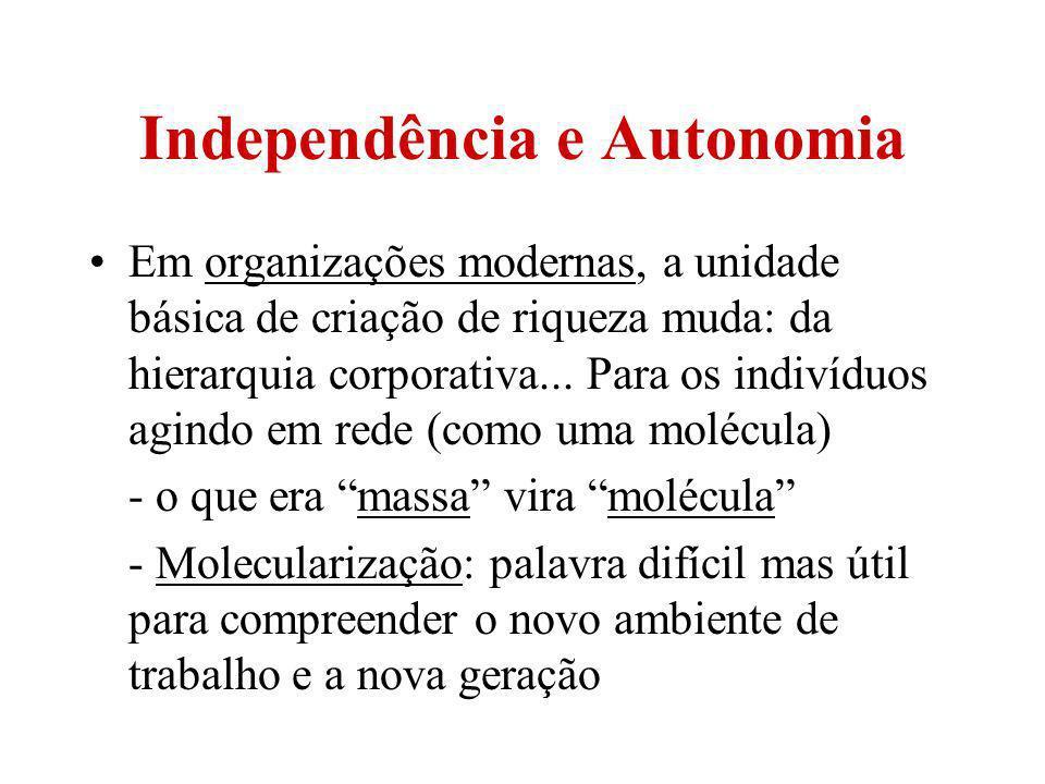 Independência e Autonomia
