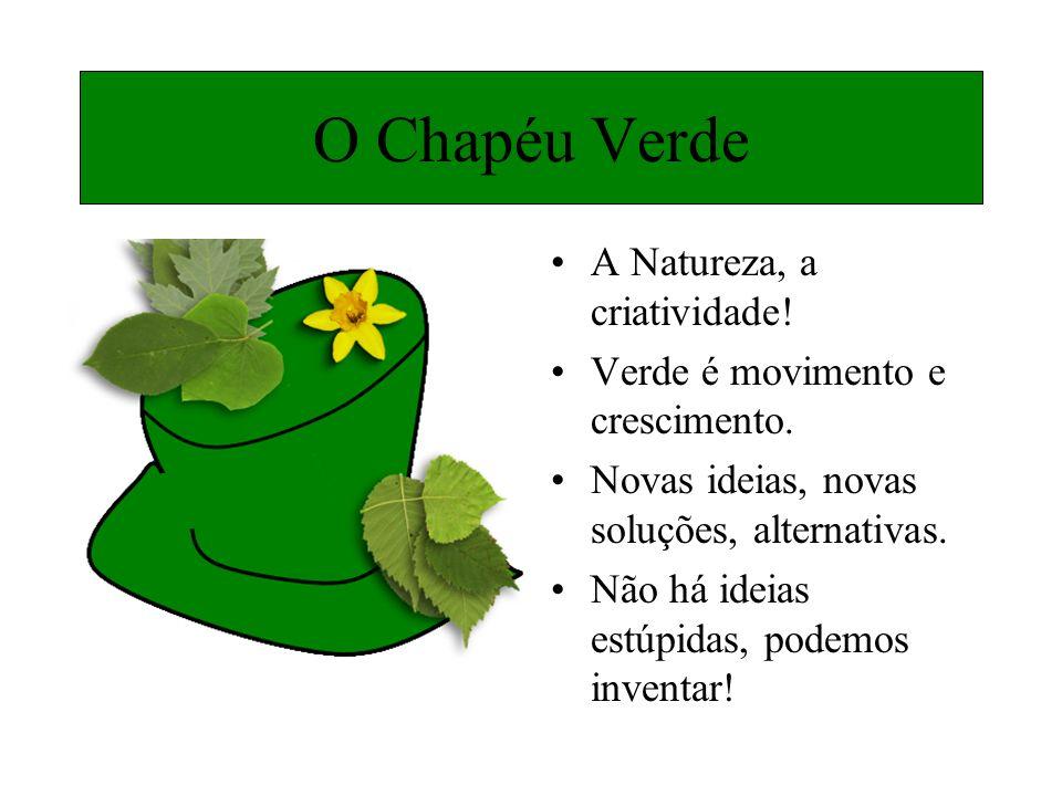 O Chapéu Verde A Natureza, a criatividade!