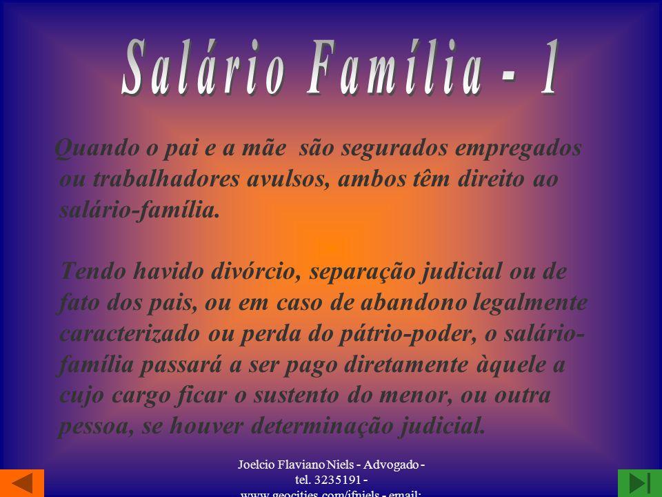 Salário Família - 1