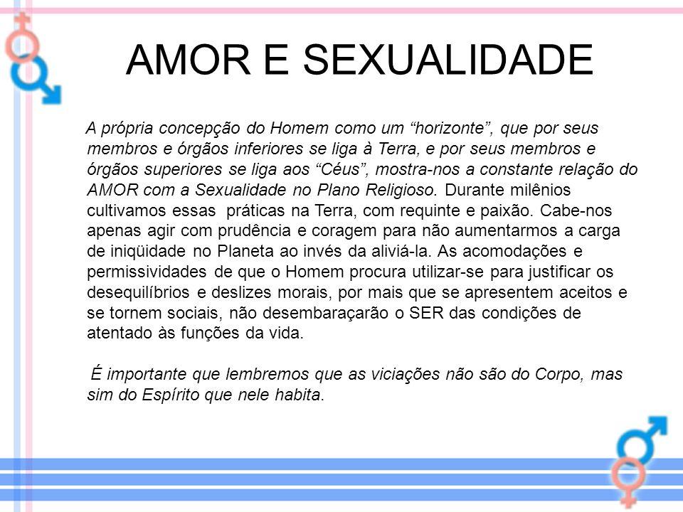 AMOR E SEXUALIDADE