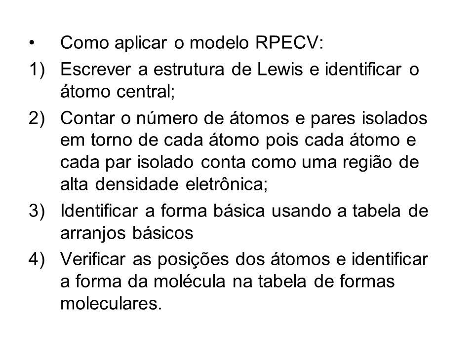 Como aplicar o modelo RPECV:
