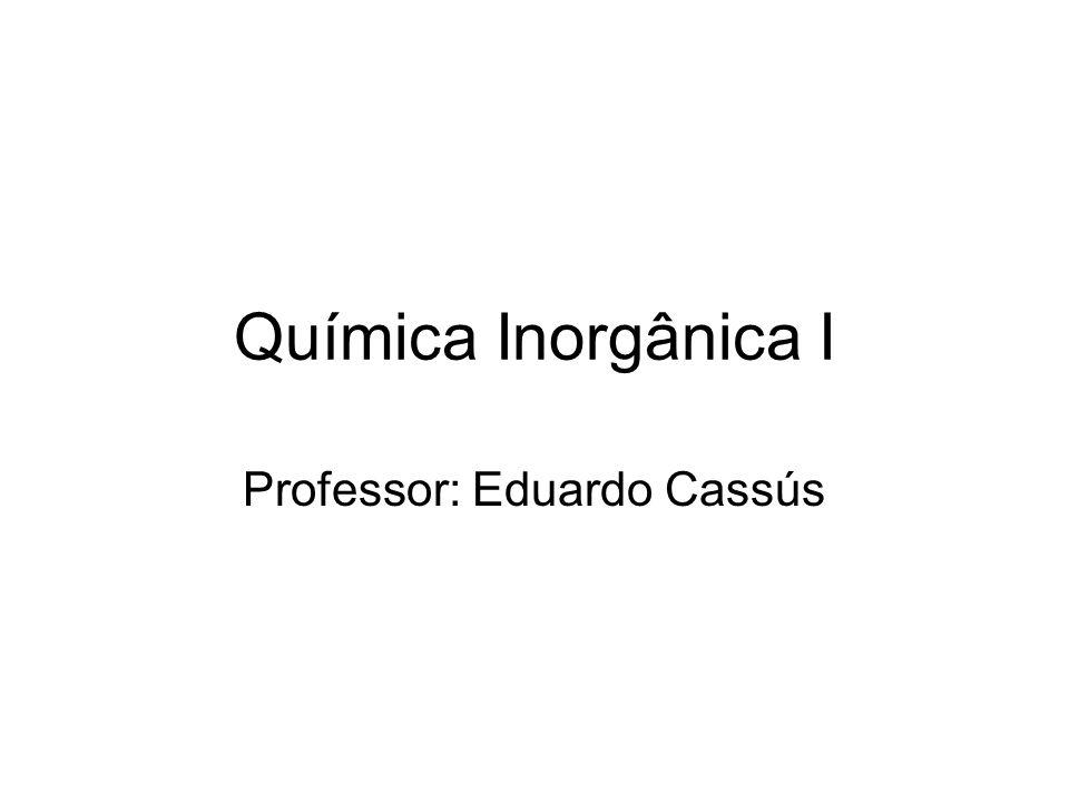 Professor: Eduardo Cassús