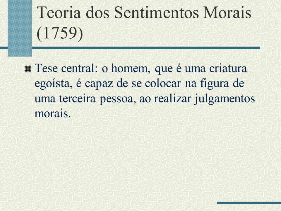 Teoria dos Sentimentos Morais (1759)