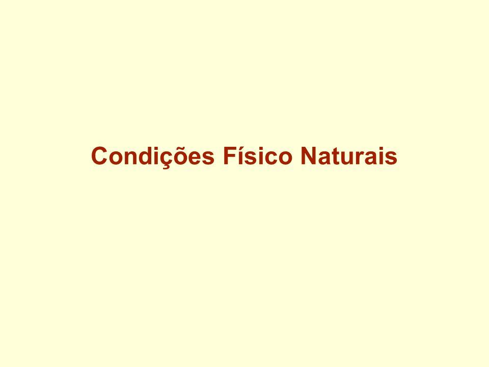 Condições Físico Naturais