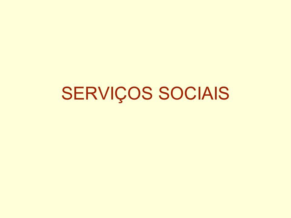 SERVIÇOS SOCIAIS