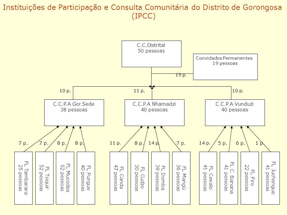 Instituições de Participação e Consulta Comunitária do Distrito de Gorongosa