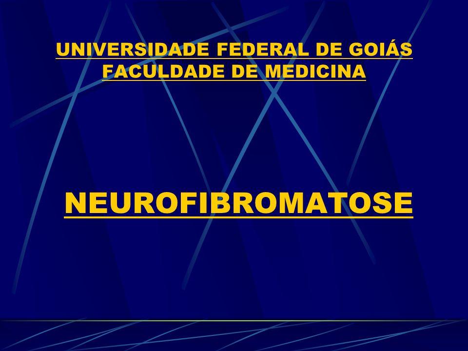 UNIVERSIDADE FEDERAL DE GOIÁS FACULDADE DE MEDICINA