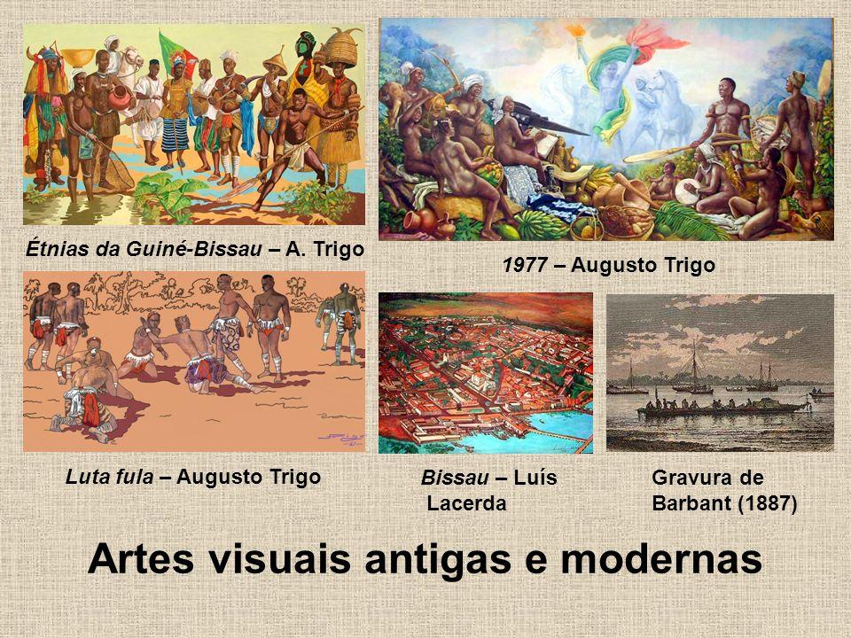 Artes visuais antigas e modernas