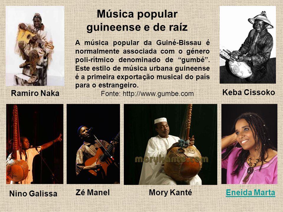 Música popular guineense e de raíz