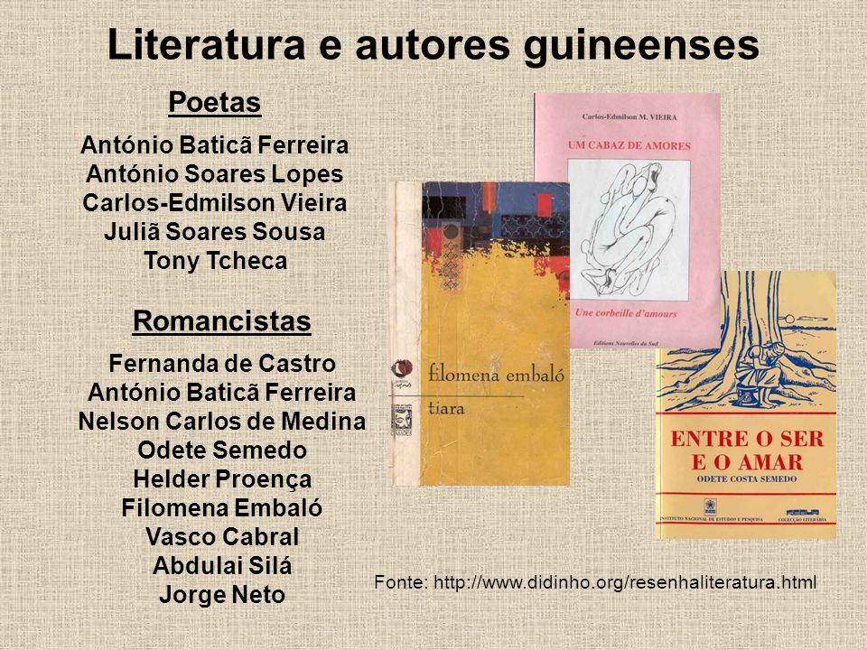 Literatura e autores guineenses