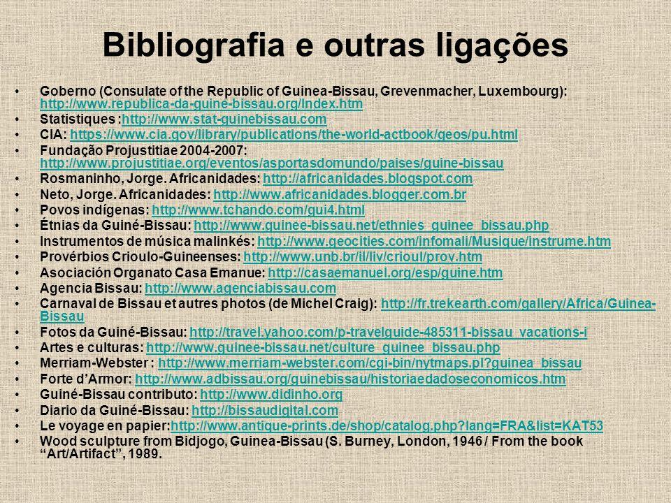Bibliografia e outras ligações