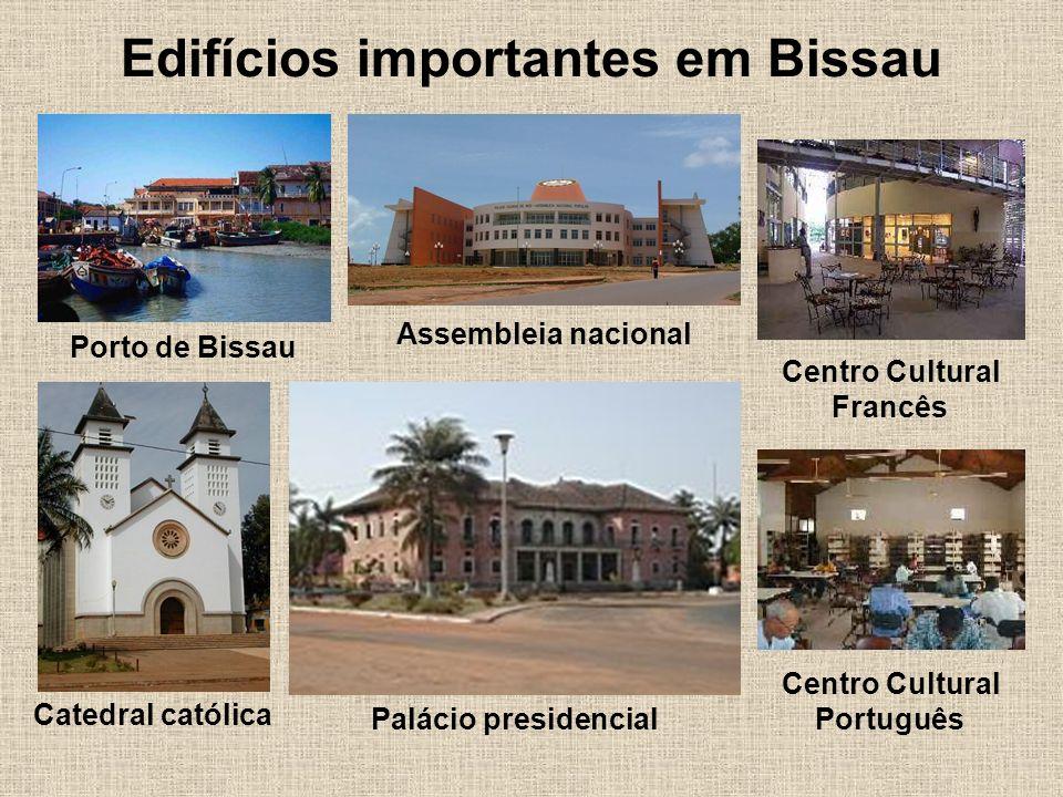 Edifícios importantes em Bissau
