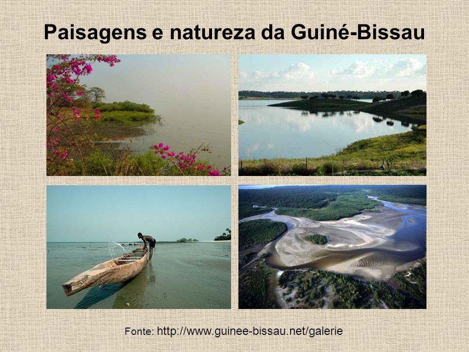 Paisagens e natureza da Guiné-Bissau