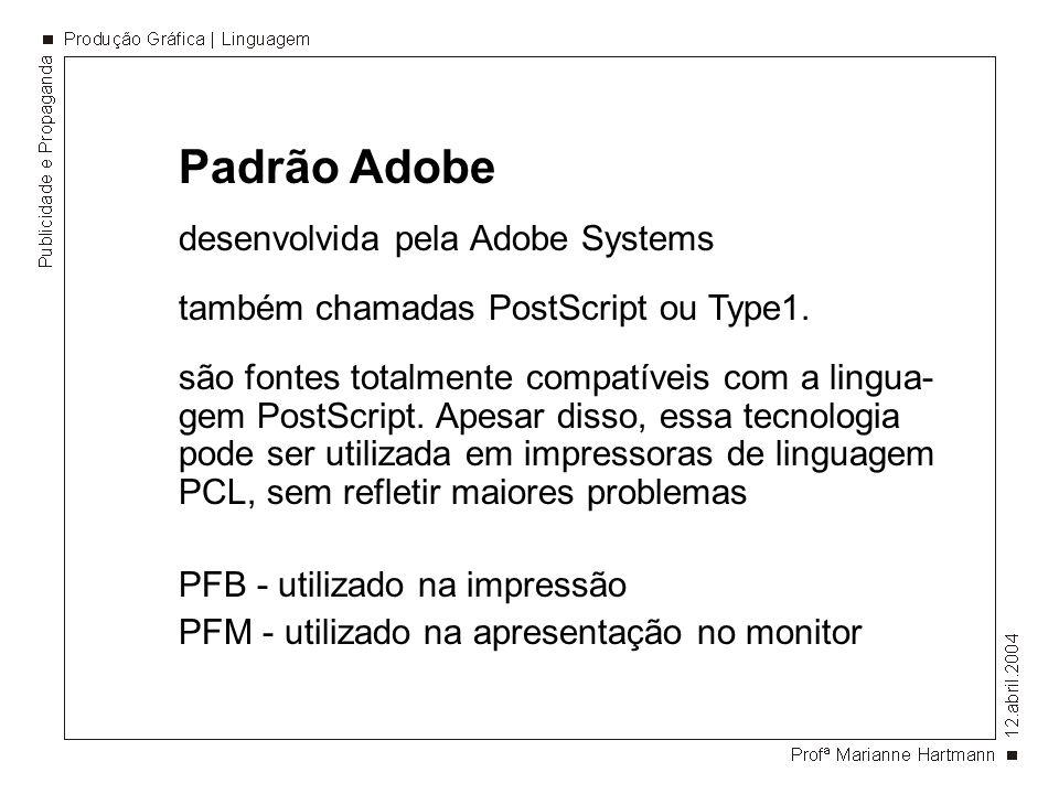 Padrão Adobe desenvolvida pela Adobe Systems