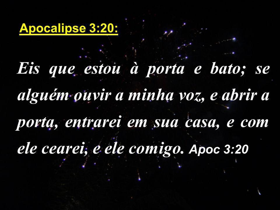 Apocalipse 3:20: