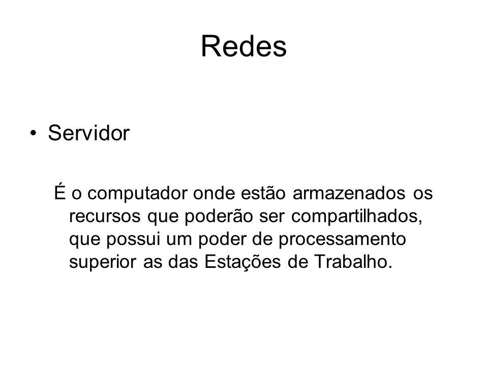 Redes Servidor.