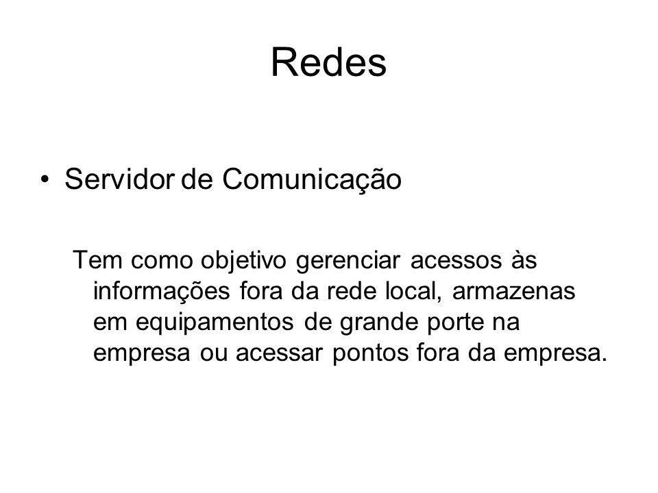 Redes Servidor de Comunicação