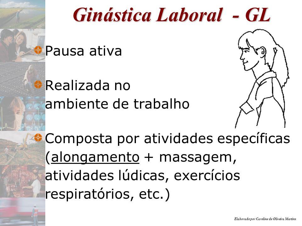 Ginástica Laboral - GL Pausa ativa Realizada no ambiente de trabalho